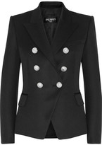Balmain Double-breasted Wool Blazer - FR44