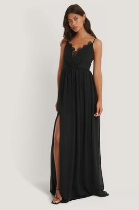 Trendyol Neck Detailed Evening Dress