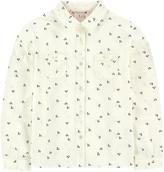 Bonpoint Printed poplin shirt
