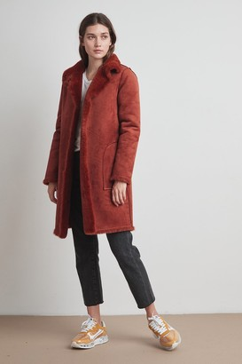 Velvet by Graham & Spencer Mina Lux Faux Fur Reversible Coat