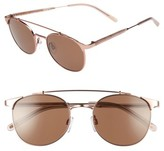 Raen Women's Raleigh 51Mm Sunglasses - Rose Gold/ Flesh