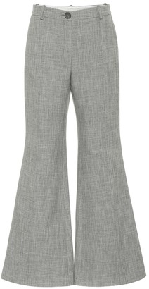 Peter Do High-rise flared pants