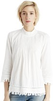Sole Society 3/4 Sleeve Woven Top