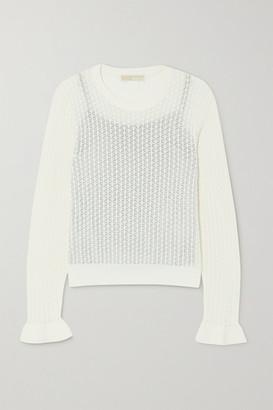 MICHAEL Michael Kors Crotchet-knit Top