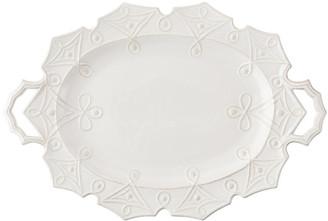 Juliska Jardins du Monde Turkey Serving Platter - White