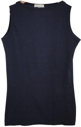 John Smedley Blue Cotton Knitwear for Women