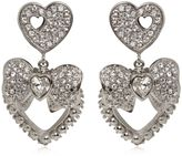 Dolce & Gabbana Heart & Bow Clip-On Earrings