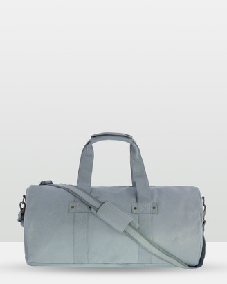 Cobb & Co - Women's Blue Leather bags - Southport Soft Leather Duffle Bag - Size One Size, Unisex at The Iconic