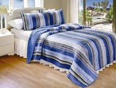 Greenland Home Brisbane Quilt Set, Full/Queen