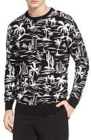 Scotch & Soda Jacquard Pattern Sweatshirt