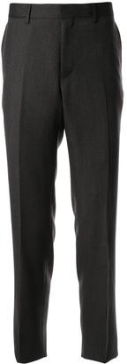 Cerruti high waist straight leg trousers