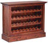 Kayu Estate Gifts for Dad Kamar Wine Cabinet, CF Mahagony