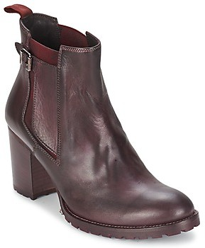 Liebeskind Berlin NAPOLI women's Low Ankle Boots in Red