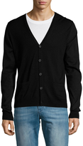 Lanvin Men's Cotton Solid Cardigan