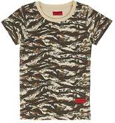 Haus of JR Howard Tiger-Striped Cotton Terry T-Shirt