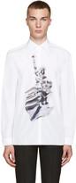Neil Barrett White Liberty Presidents Shirt