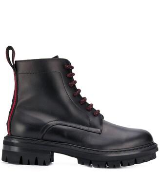 DSQUARED2 combat boots