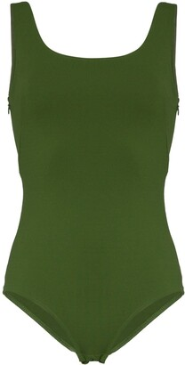 Vika Gazinskaya Scoop Neck Bodysuit