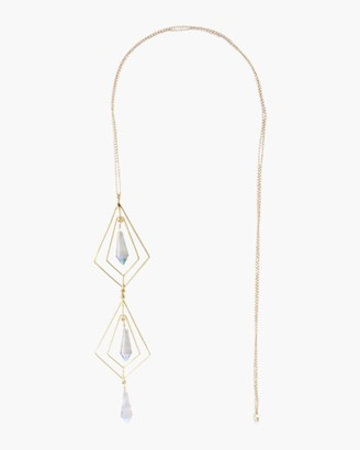 Mercedes Salazar Secret Geometry Crystal Necklace