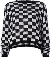 A.L.C. checked jumper