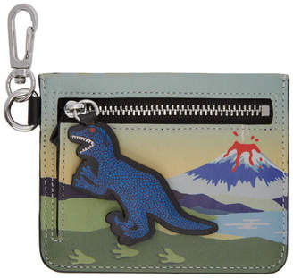 Paul Smith Multicolor Dino Zip Card Holder