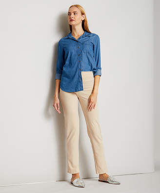 Vky & Co VKY & CO Women's Dress Pants TAUPE - Taupe Tummy Control Skinny Pants - Women & Plus