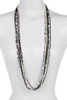 Joe Fresh Long Multi Row Beaded Necklace