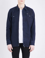 Diesel Jaden JoggJean stretch-cotton shirt