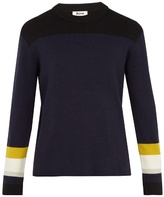 Acne Studios Nazar Colour-block Sweater