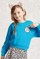 Forever 21 Girls Club Patch Sweatshirt (Kids)