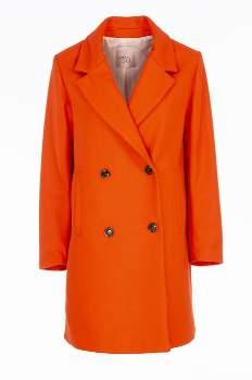 Giacca Même Road Meme Road - MG4601 Orange Wool Coat Meme Road 13538001 - xsmall