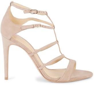 Alexandre Birman Strappy Suede Sandals