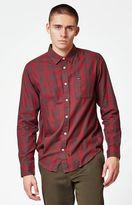 RVCA Lament Plaid Long Sleeve Button Up Shirt