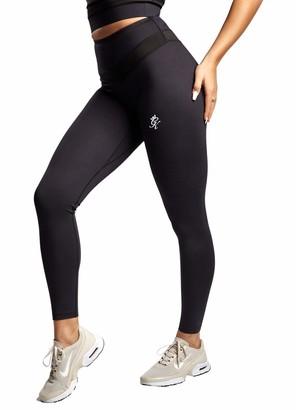 Gym King Women's Evolve Legging Casual Fashion Style Gym Sport Training Jogger WLG-A211Z New (10 / M/Waist 66-70 cm) Black