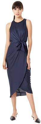Ted Baker Pohshan Keyhole Detail Midi Dress (Navy) Women's Dress