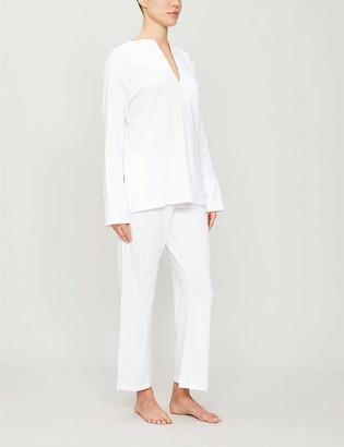 Skin Ondrea stretch-jersey pyjama set