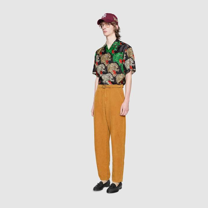 Gucci Washed corduroy pant