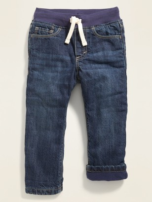 Old Navy Rib-Knit Waist Performance Fleece-Lined Jeans for Toddler Boys