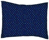SheetWorld Percale Twin Pillow Case - Primary Colorful Pindots Navy Woven - Made In USA