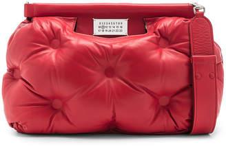 Maison Margiela Glam Slam Shoulder Bag in Haute Red | FWRD