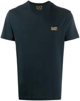 Emporio Armani Ea7 short sleeved cotton T-shirt