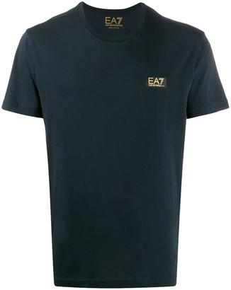Ea7 Emporio Armani short sleeved cotton T-shirt