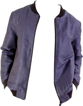 Good Krama   Circular Fashion Kiri Upcycled Linen Bomber Jacket
