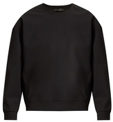Calvin Klein Collection Pavan mesh-panelled sweatshirt