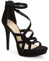 Jessica Simpson Bellanne Suede Platform Sandals