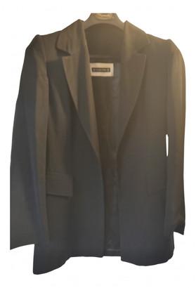 Plein Sud Jeans Black Wool Jackets