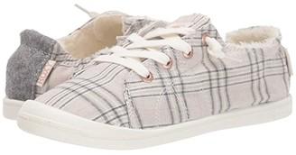 Roxy Bayshore Faux-Fur Lined Shoes (Plaid) Women's Shoes