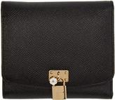 Dolce & Gabbana Black Leather Wallet