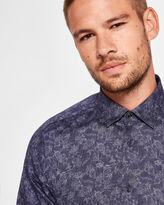 Ted Baker Doublesided floral print cotton shirt