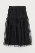 Thumbnail for your product : H&M Calf-length mesh skirt